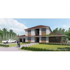 Проект дома 260 м2 АРТ-№2