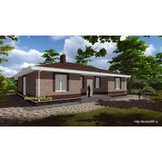 Готовый проект дома 138 м2 АСП-№34