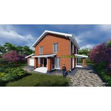 Готовый проект дома 187 м2 АСП-№48