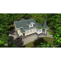 Готовый проект дома 150 м2 АСП-№44