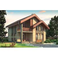 Проект дома 127 м2 Дом-№103 10 на 10 метров