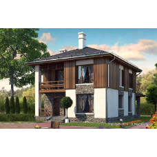 Проект дома 122 м2 Дом-№128