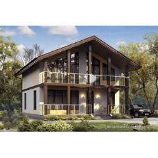 Проект дома 161 м2 Дом-№144