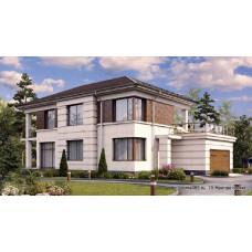 Проект дома 228 м2 Дом-№164