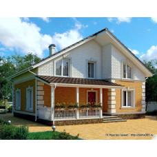 Проект дома 147 м2 Дом-№178