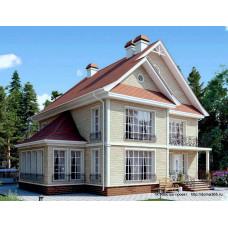 Проект дома 244 м2 Дом-№196