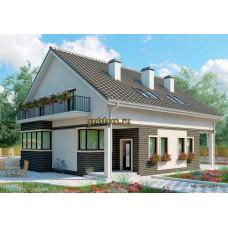 Дом на две семьи 234 м2 проект Дом-№312