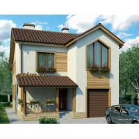 Проект дома с гаражом 150 м2 Дом-№318 10 на 10 метров