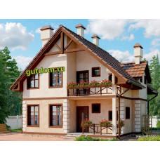Проект дома 132 кв.м Дом-№327