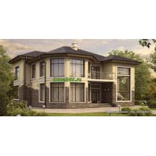 Проект дома 238 м2 Дом-№33