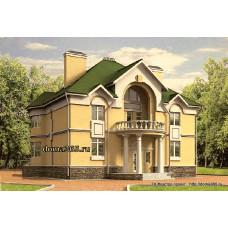 Проект дома 265 м2 Дом-№37