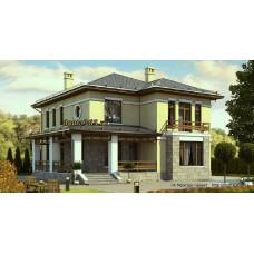 Проект дома 200 м2 Дом-№48