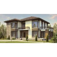 Проект дома 242 м2 Дом-№49