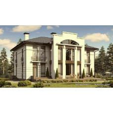 Проект дома 300 м2 Дом-№55
