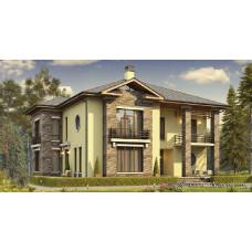 Проект дома 400 м2 Дом-№62