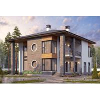 Проект дома 200 м2 Дом-№65