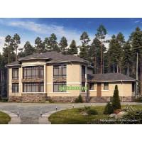 Проект дома 345 м2 Дом-№68