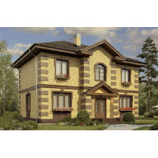 Проект дома 161 м2 Дом-№75