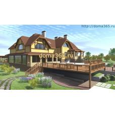 Проект дома площадью 200 м2 ГаП№1