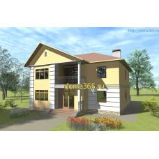 Проект дома площадью 238 м2  ГаП-№3