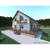 Проект дома 200 м2 ГаП-№38