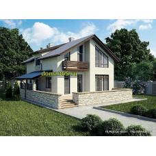 Проект дома 195 м2 ГБЮ-№5