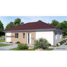 Проект одноэтажного дома 112 м2 ГБЮ-№59