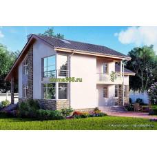 Проект дома 240 м2 ГБЮ-№89
