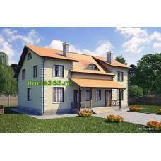 Дуплекс - проект площадью 222 м2 ГБЮ-№91