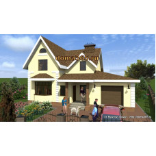 Проект дома 206 м2 ЖЗЛ-№11