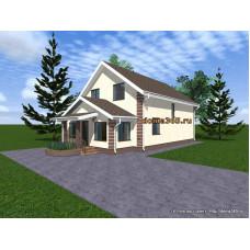 Проект дома 169 м2 ЖЗЛ-№12