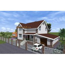 Проект дома 236 м2 ЖЗЛ-№15