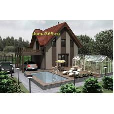 Проект дома 116 м2 КиС-№60