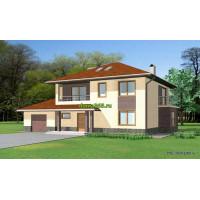 Проект дома 200 м2 ВиК-№2