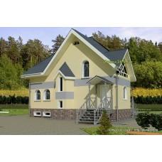 Проект дома 167 м2 ВиК-№21