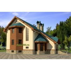 Проект дома 165 м2 ВиК-№22