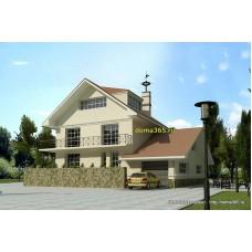 Проект дома 201 м2 ВиК-№24