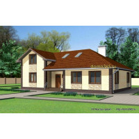 Проект дома 214 м2 ВиК-№4