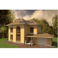 Проект дома 170 м2 ВиК-№43