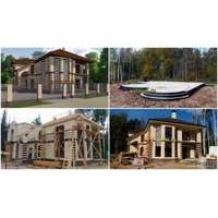 Строительство дома под ключ в Нижнем Новгороде фото репортаж