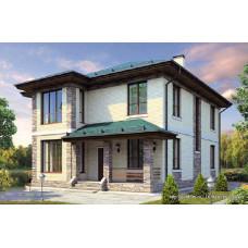 Проект дома 184 м2 Дом-№124