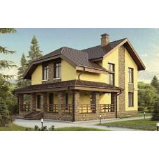 Проект дома 150 м2 Дом-№136