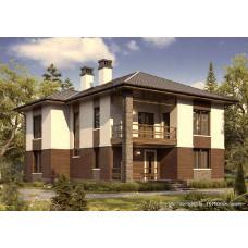 Проект дома 200 м2 Дом-№147