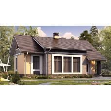 Проект дома 100 м2 Дом-№150
