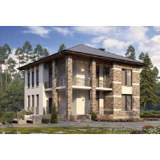 Проект дома 184 м2 Дом-№156