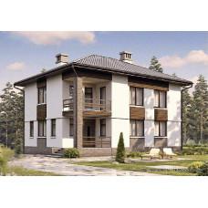 Проект дома 162 м2 Дом-№159