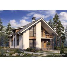 Проект дома 170 м2 Дом-№162