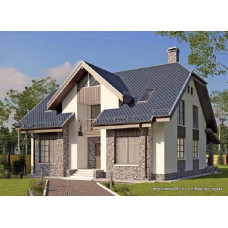 Проект дома 188 м2 Дом-№175