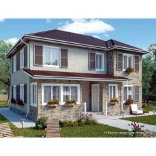 Проект дома 174 м2 Дом-№185