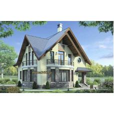 Проект дома 161 м2 Дом-№43